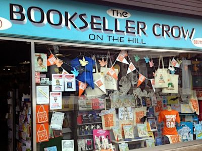 The Bookseller Crow on the Hill
